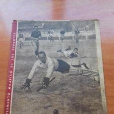 Coleccionismo deportivo: DIARIO MARCA. Nº185. 18-JUNIO-1946. MIENTRAS PASARIN PIENSA SU EQUIPO.. Lote 112571259