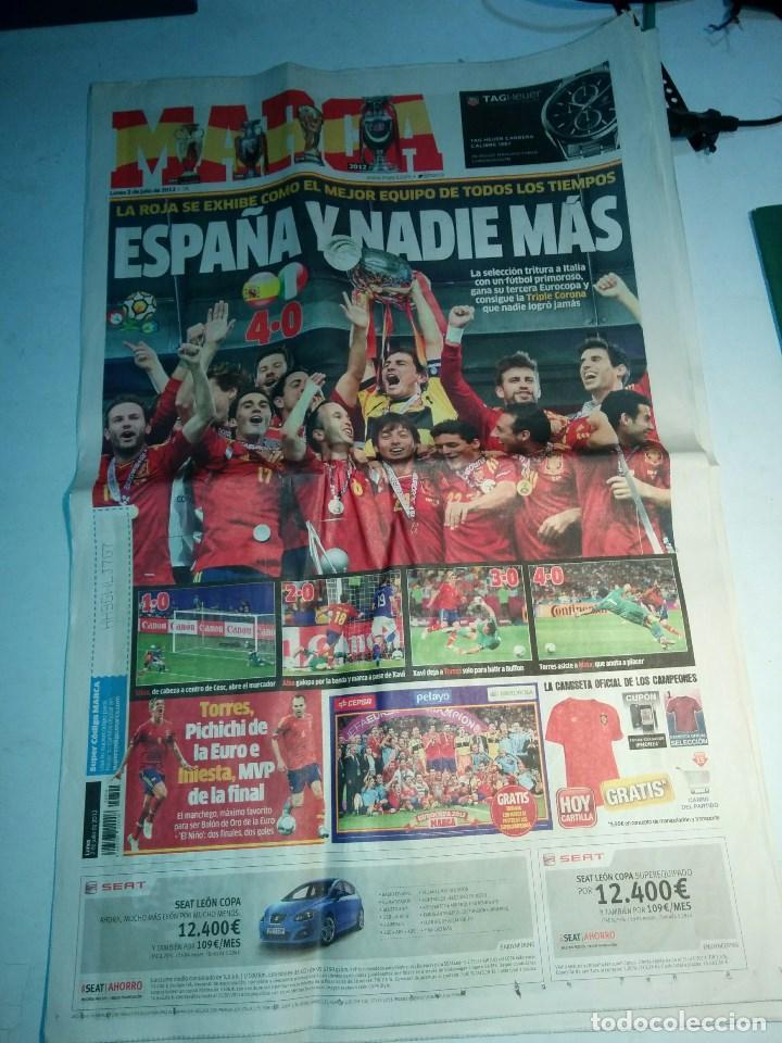 FINAL DE LA EUROCOPA 2012, REVISTA MARCA DEL 2 JULIO DEL 2012, COMPLETA. (Coleccionismo Deportivo - Revistas y Periódicos - Marca)
