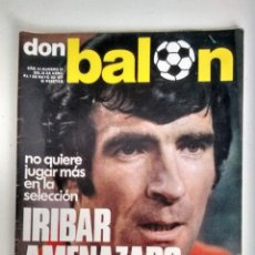 Coleccionismo deportivo: DON BALÓN IRIBAR AMENAZADO. Lote 112681139