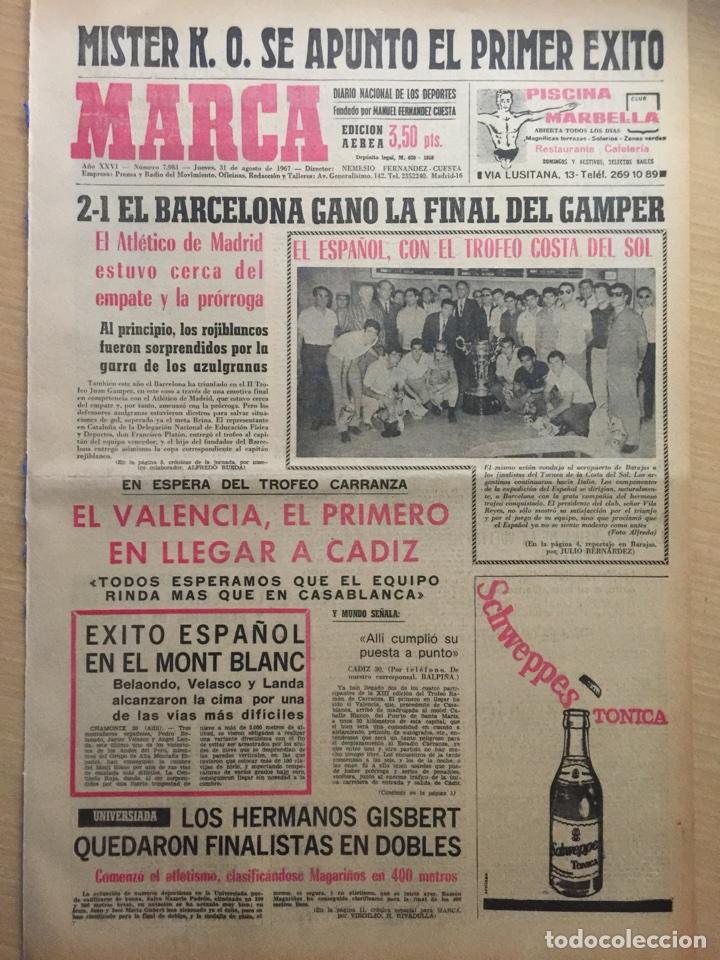 0a0af3f149 marca.31 8 1967. final gamper.boca juniors