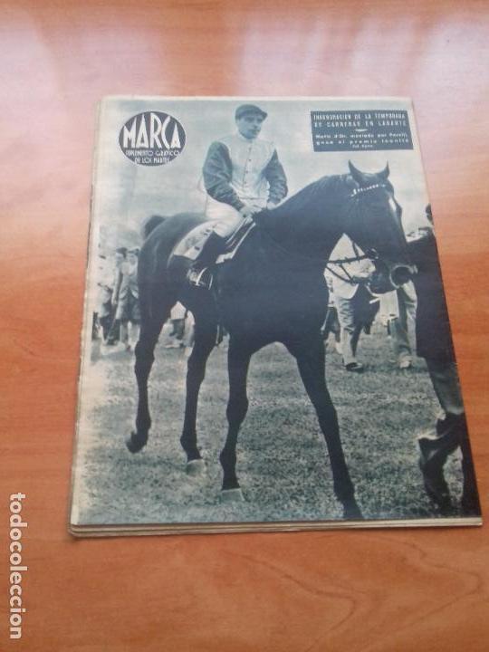 Coleccionismo deportivo: DIARIO MARCA. Nº34. 20-JULIO-1943. III JUEGOS NACIONALES DEL FRENTE DE JUVENTUDES. - Foto 2 - 113113439