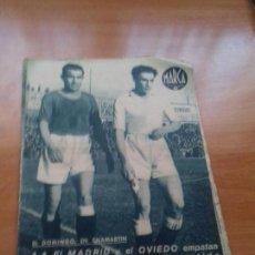 Coleccionismo deportivo: DIARIO MARCA. Nº158. 17-FEBRERO-1942. 1-1 EL MADRID Y EL OVIEDO EMPATAN.. Lote 113116155