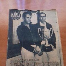 Coleccionismo deportivo: DIARIO MARCA. Nº184. 18-AGOSTO-1942. REGATAS DE BALANDROS EN LA CORUÑA.. Lote 113207767