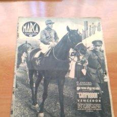 Coleccionismo deportivo: DIARIO MARCA. Nº183. 11-AGOSTO-1942. CAMPEONATO DE ESPAÑA DE LUCHA GRECORROMANA.. Lote 113207903