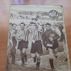 Coleccionismo deportivo: DIARIO MARCA. Nº83. 27-JUNIO-1944. EL ATLETICO DE BILBAO, CAMPEON.. Lote 113209119
