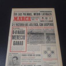 Coleccionismo deportivo: MARCA. 5/10/1970. RESUMEN JORNADA LIGA N° 4.. Lote 113209986
