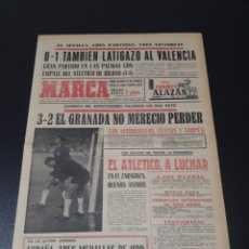 Coleccionismo deportivo: MARCA. 27/9/1970. JORNADA LIGA.. Lote 113210404