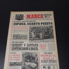 Coleccionismo deportivo: MARCA. 3/08/1970. TENIS. URTAIN PERDIÓ EL COMBATE Y UN DIENTE.. Lote 113210807