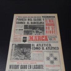 Coleccionismo deportivo: MARCA. 1/02/1971. RESUMEN JORNADA DE LIGA N° 20.. Lote 113211548