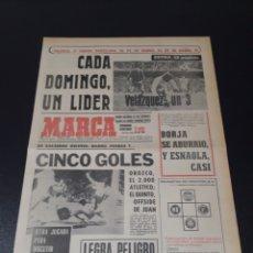 Coleccionismo deportivo: MARCA.LUNES. 25/01/1971. RESUMEN JORNADA DE LIGA N° 19.. Lote 113211998