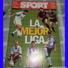 Coleccionismo deportivo: BARCELONA CLUB DE FUTBOL SPORT ESPECIAL LA MEJOR LIGA 2000/2001. Lote 113212007