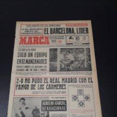 Coleccionismo deportivo: MARCA.LUNES. 18/01/1971. RESUMEN JORNADA DE LIGA N° 19.. Lote 113212196