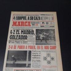 Coleccionismo deportivo: MARCA.LUNES. 28/12/1970. RESUMEN JORNADA DE LIGA N° 15.. Lote 113212876