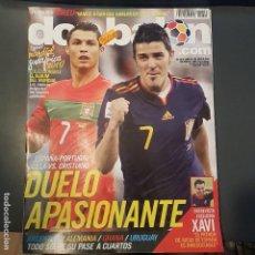 Coleccionismo deportivo: DON BALON Nº 1809 CRISTIANO RONALDO POSTER MESSI ARGENTINA NUEVA . Lote 113214583