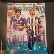 Coleccionismo deportivo - DON BALON Nº 1814 RAUL Y GUTI POSTER FILIPE LUIS ATLETICO DE MADRID NUEVA - 114397980
