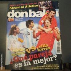Coleccionismo deportivo: DON BALON Nº 1723 MESSI VILLA TORRES AGUERO POSTER JESUS NAVAS SEVILLA FC NUEVA . Lote 113214807