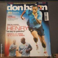 Coleccionismo deportivo: DON BALON Nº 1661 HENRY POSTER SIMAO SABROSA ATLETICO DE MADRID NUEVA . Lote 113214855