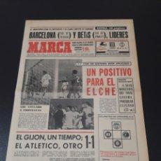 Coleccionismo deportivo: MARCA.LUNES. 14/12/1970. RESUMEN JORNADA DE LIGA N° 13.. Lote 113245063
