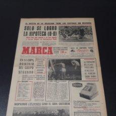 Coleccionismo deportivo: MARCA. 24/10/1966. EUROCOPA. EIRE,0 - ESPAÑA,0.. Lote 113271286