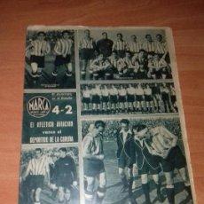 Coleccionismo deportivo: DIARIO MARCA. Nº67. 7-MARZO-1944. 4-2 EL ATLETICO AVIACION VENCE AL DEPORTIVO DE LA CORUÑA.. Lote 113296031