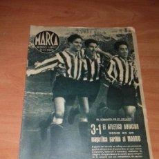 Coleccionismo deportivo: DIARIO MARCA. Nº62. 1-FEBRERO-1944.3-1 EL ATLETICO AVIACION VENCE EN UN MAGNIFICO PARTIDO AL MADRID.. Lote 113298407
