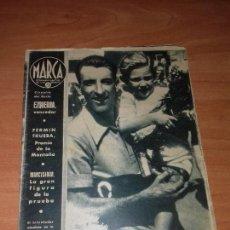 Coleccionismo deportivo: DIARIO MARCA. Nº186. 1-SEPTIEMBRE-1942. CIRCUITO DEL NORTE. EZQUERRA, VENCEDOR.. Lote 113299091