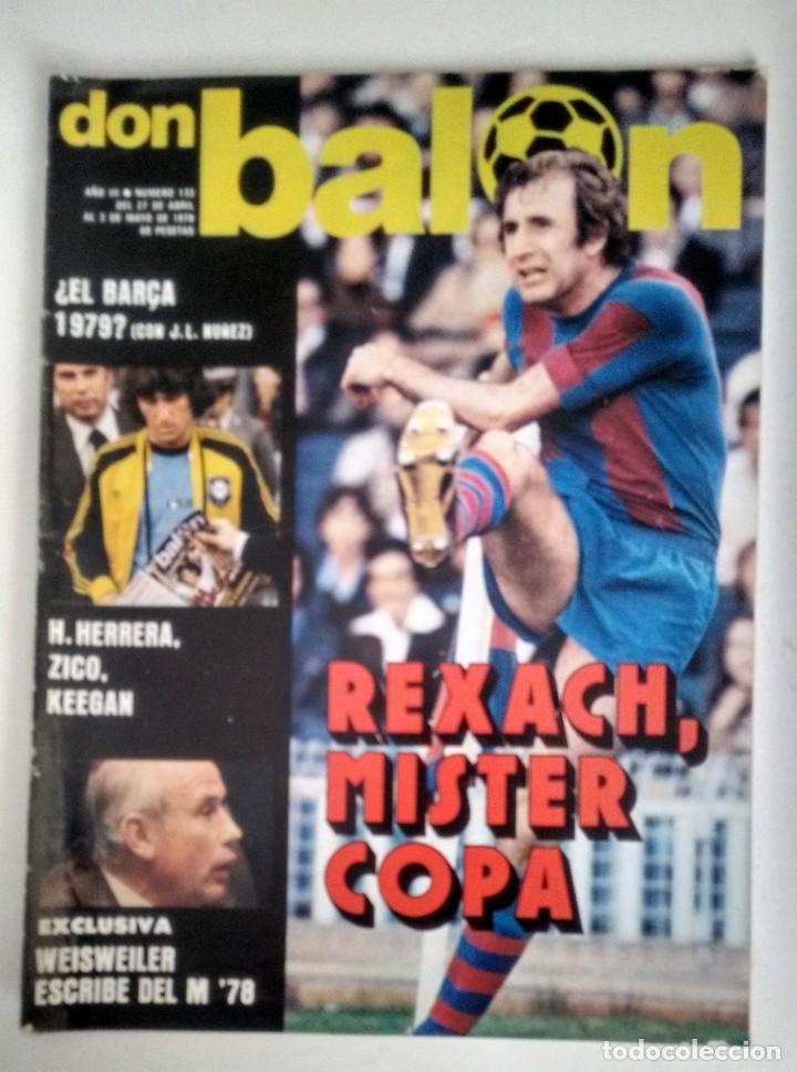 DON BALÓN MISTER COPA (Coleccionismo Deportivo - Revistas y Periódicos - Don Balón)
