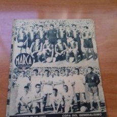 Coleccionismo deportivo: DIARIO MARCA. Nº175. 16-JUNIO-1942. ¡EL BARCELONA ELIMINA AL VALENCIA!. Lote 113526395