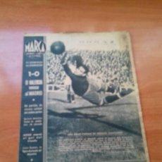 Coleccionismo deportivo: DIARIO MARCA. Nº5. 29-DICIEMBRE-1942. 1-0 EL VALENCIA VENCE AL MADRID.. Lote 113532279