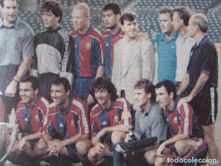 Coleccionismo deportivo: SPORT-Nº5314-AG 94-COMP 64 PAG-HAGI-ROMARIO-CRUYFF-BEBETO-MARADONA-POSTER,BARSA 93-94- - Foto 2 - 245566425