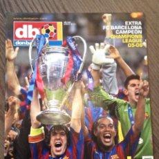 Coleccionismo deportivo: FC BARCELONA. ARSENAL. CHAMPIONS. NÚMERO ESPECIAL. DON BALÓN. COMO NUEVO.. Lote 113846023