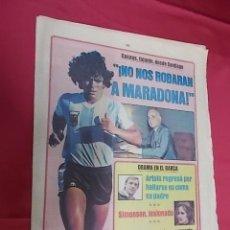 Coleccionismo deportivo: SPORT Nº 890. 16 MAYO 1982. NO NOS ROBARAN A MARADONA.SIMONSEN, LESIONADO. DRAMA EN EL BARÇA. Lote 114013071