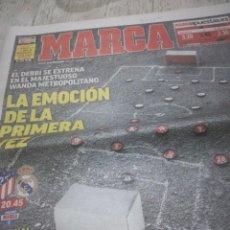 Coleccionismo deportivo: REAL MADRID ATLETICO DERBY. Lote 114018247