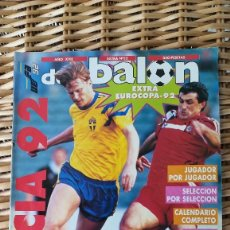 Coleccionismo deportivo: DON BALON SUECIA 92 EUROCOPA EXTRA 22. Lote 114061103