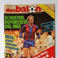 Coleccionismo deportivo: DON BALÓN 495. IVAN BRZIC - KALLE - ESPECIAL AUTOMOVILISMO - BALONCESTO FINAL COPA EUROPA.. Lote 114083679