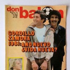Coleccionismo deportivo: DON BALÓN 274. GORDILLO Y ZAMORA - ABAD - ANTONIO ZANINI - URTAIN.. Lote 114084703
