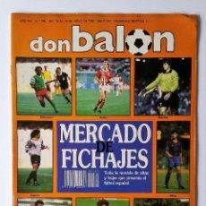 Coleccionismo deportivo: DON BALÓN 769. RAMON - ALEMANIA - BECKENBAUER - MANOLO DEL BOMBO - TOMAS - JULIO SALINAS.. Lote 114085815