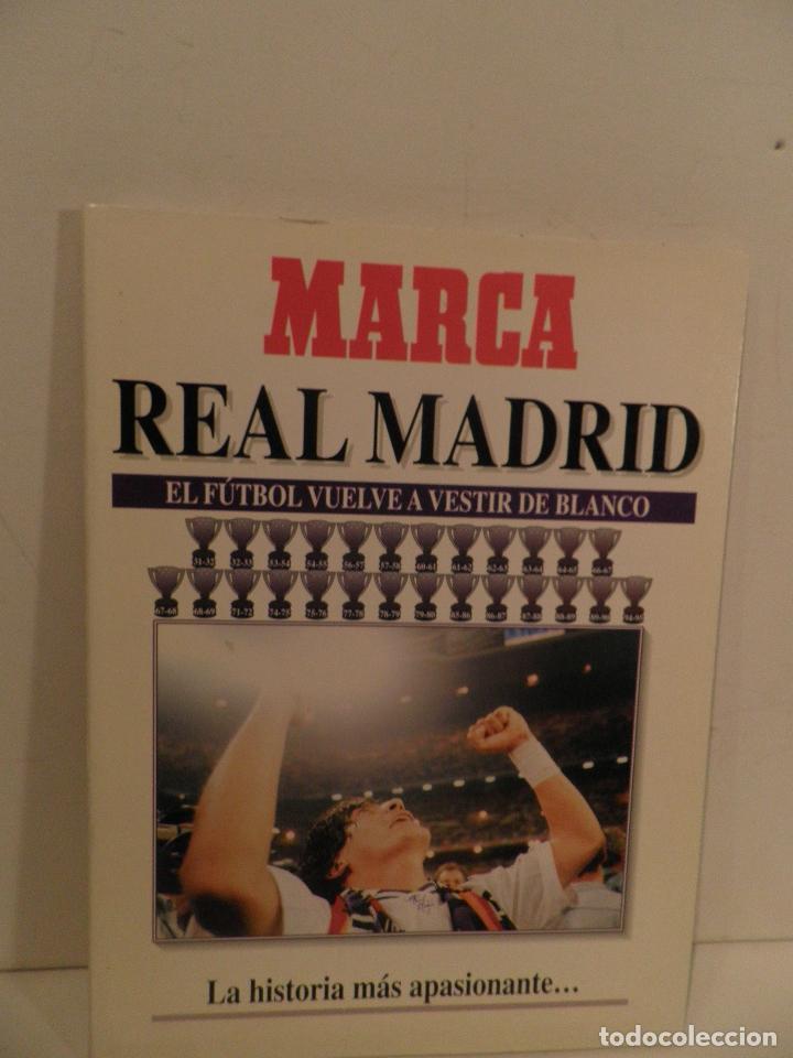 MARCA REAL MADRID EL FÚTBOL VUELVE A VESTIR DE BLANCO COMPLETA 7 NÚMEROS. 1995. (Coleccionismo Deportivo - Revistas y Periódicos - Marca)