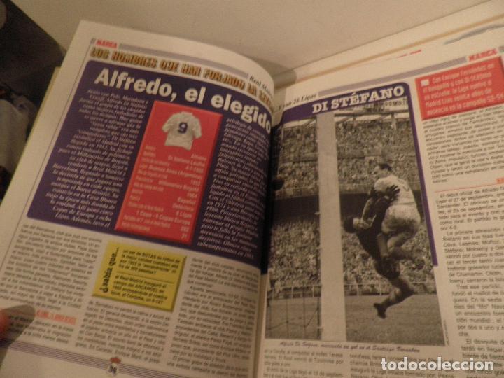 Coleccionismo deportivo: MARCA REAL MADRID EL FÚTBOL VUELVE A VESTIR DE BLANCO COMPLETA 7 NÚMEROS. 1995. - Foto 4 - 114128915