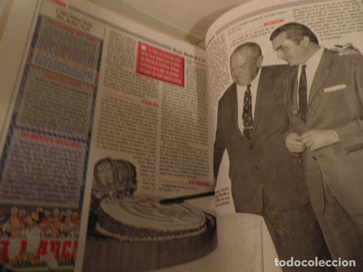 Coleccionismo deportivo: MARCA REAL MADRID EL FÚTBOL VUELVE A VESTIR DE BLANCO COMPLETA 7 NÚMEROS. 1995. - Foto 5 - 114128915