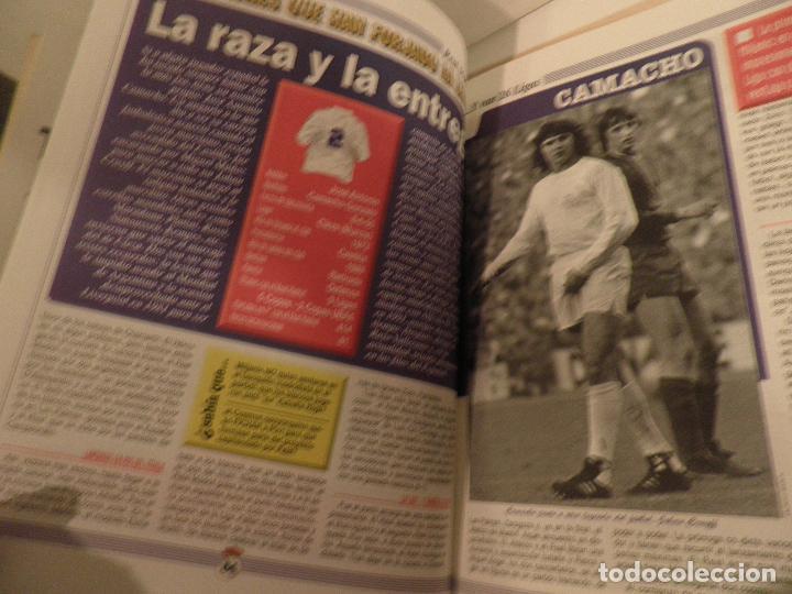 Coleccionismo deportivo: MARCA REAL MADRID EL FÚTBOL VUELVE A VESTIR DE BLANCO COMPLETA 7 NÚMEROS. 1995. - Foto 6 - 114128915
