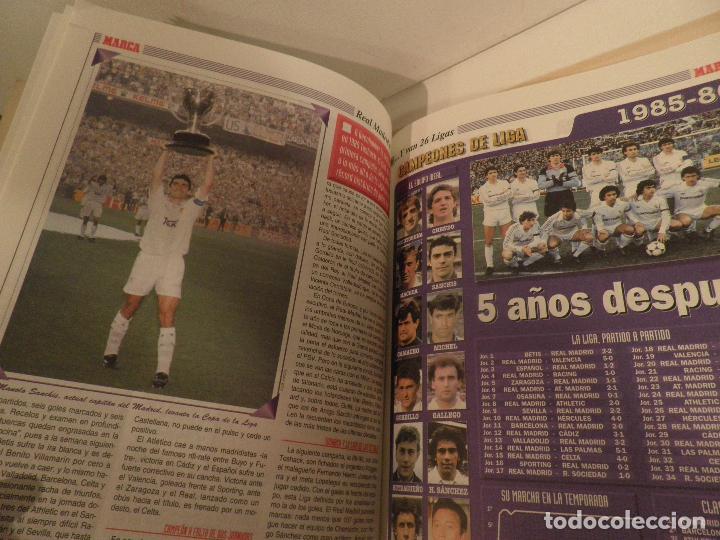 Coleccionismo deportivo: MARCA REAL MADRID EL FÚTBOL VUELVE A VESTIR DE BLANCO COMPLETA 7 NÚMEROS. 1995. - Foto 8 - 114128915