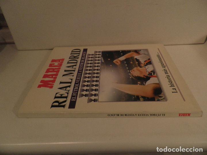 Coleccionismo deportivo: MARCA REAL MADRID EL FÚTBOL VUELVE A VESTIR DE BLANCO COMPLETA 7 NÚMEROS. 1995. - Foto 9 - 114128915