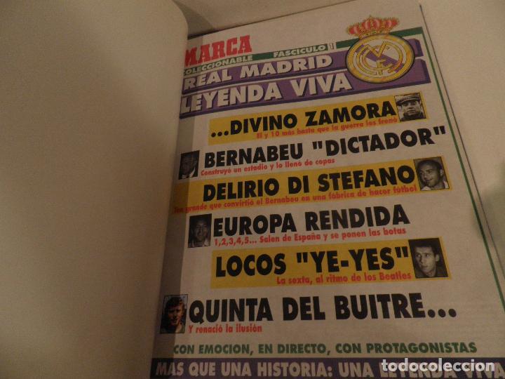 REAL MADRID, LEYENDA VIVA, COLECCIONABLE MARCA - 15 FASCICULOS - ENCUADERNADO (Coleccionismo Deportivo - Revistas y Periódicos - Marca)
