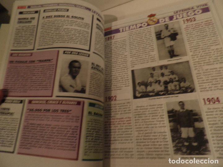 Coleccionismo deportivo: REAL MADRID, LEYENDA VIVA, COLECCIONABLE MARCA - 15 FASCICULOS - ENCUADERNADO - Foto 5 - 114129107