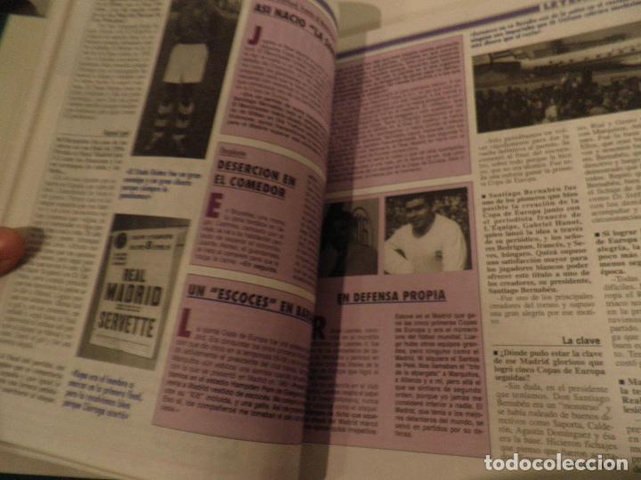Coleccionismo deportivo: REAL MADRID, LEYENDA VIVA, COLECCIONABLE MARCA - 15 FASCICULOS - ENCUADERNADO - Foto 6 - 114129107