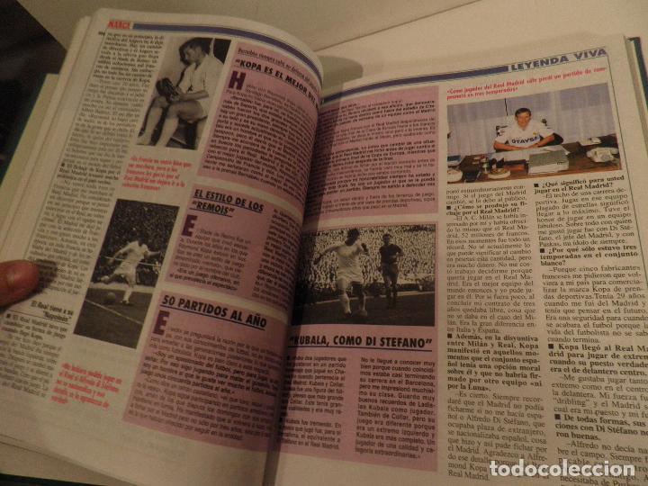 Coleccionismo deportivo: REAL MADRID, LEYENDA VIVA, COLECCIONABLE MARCA - 15 FASCICULOS - ENCUADERNADO - Foto 7 - 114129107
