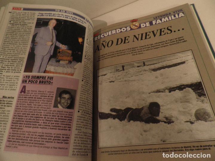 Coleccionismo deportivo: REAL MADRID, LEYENDA VIVA, COLECCIONABLE MARCA - 15 FASCICULOS - ENCUADERNADO - Foto 8 - 114129107