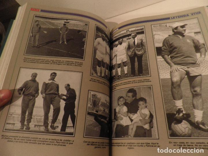 Coleccionismo deportivo: REAL MADRID, LEYENDA VIVA, COLECCIONABLE MARCA - 15 FASCICULOS - ENCUADERNADO - Foto 9 - 114129107
