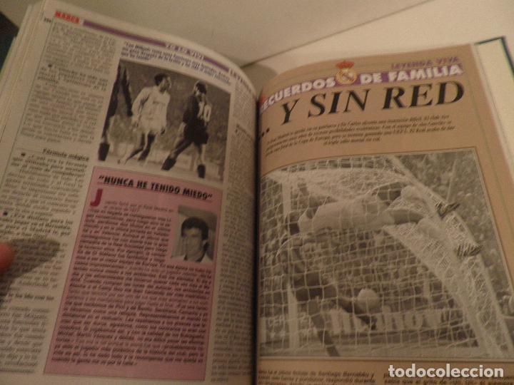 Coleccionismo deportivo: REAL MADRID, LEYENDA VIVA, COLECCIONABLE MARCA - 15 FASCICULOS - ENCUADERNADO - Foto 11 - 114129107